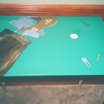 Golf Table Detail