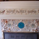Loretto After - Close-up of Hand-made Shell Mantel