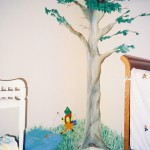 Hand-Painted Nursery Corner