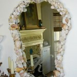 Small Shell Mirror