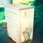 Hand-painted Side Table